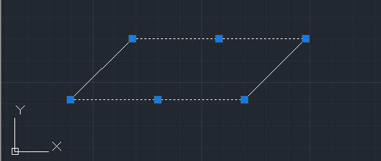 Изменить длину отрезка в Автокаде